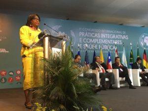 Dra. Carissa Etienne, directora de la OPS