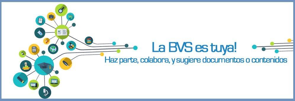 clic aquí y sugiera documentos o contenidos para la BVS MTCI