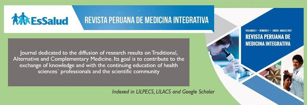 Revista Peruana de Medicina Integrativa