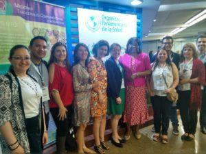 CRICS 10 2018 Grupo 4 con Directora OPS Dra Carissa Etienne