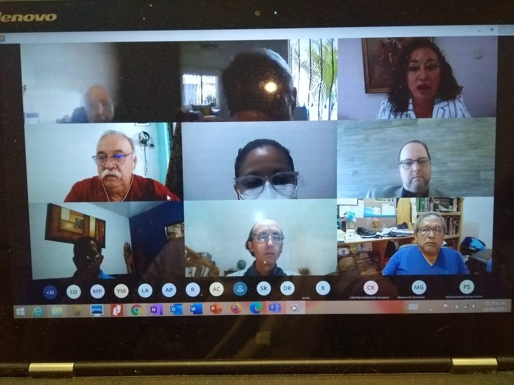 webinar dia de la hoemopatia- foto videoconferencia