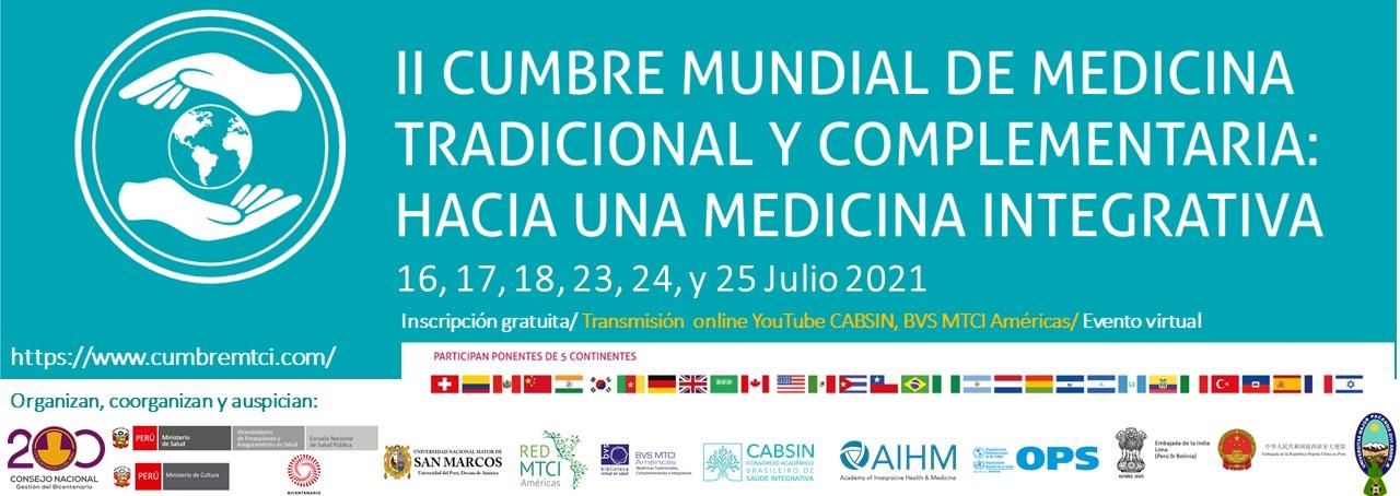 cumbre mundial de medicina tradiciona y complementaria hacia una medicina integrativa